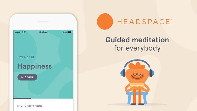приложение Headspace