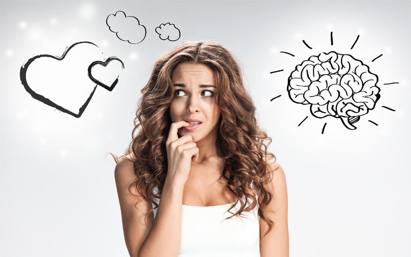 Разногласия между чувствами и разумом