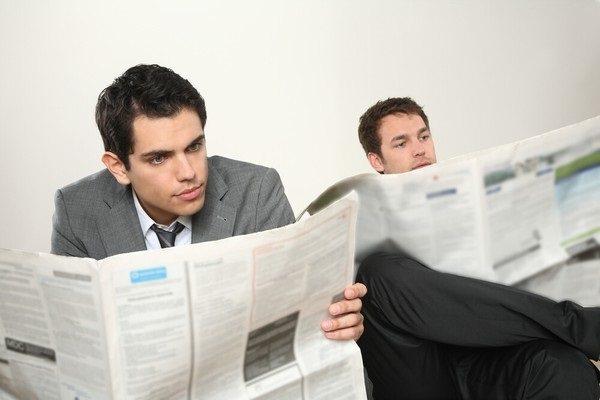 нахождение в газете 3 случайных понятия
