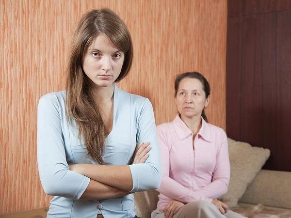 Отсутствие взаимопонимания с родителями