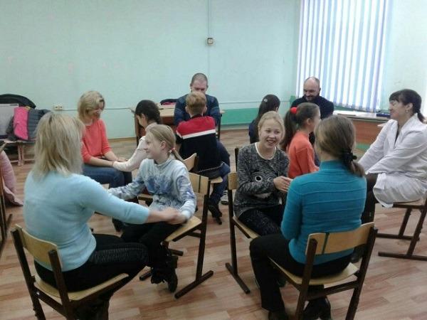 тренинг совместный родителей с детьми