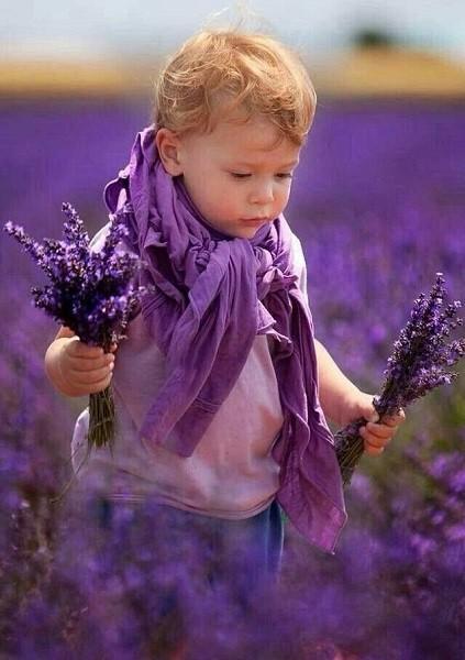 значение фиолетового цвета для детей