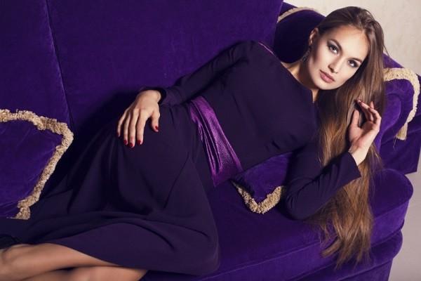 значение фиолетового цвета для женщин