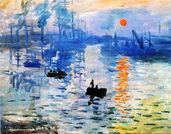 картина Клода Моне «Восход солнца»