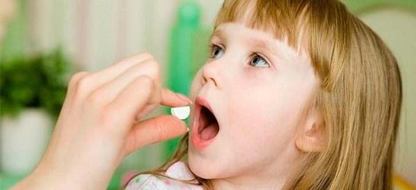 прием медикаментов ребенком