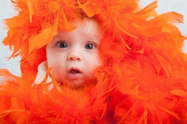 значение оранжевого цвета для детей