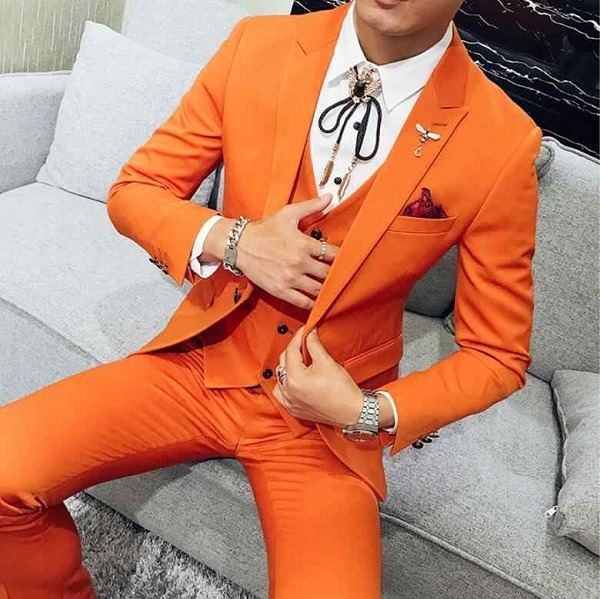 значение оранжевого цвета для мужчин