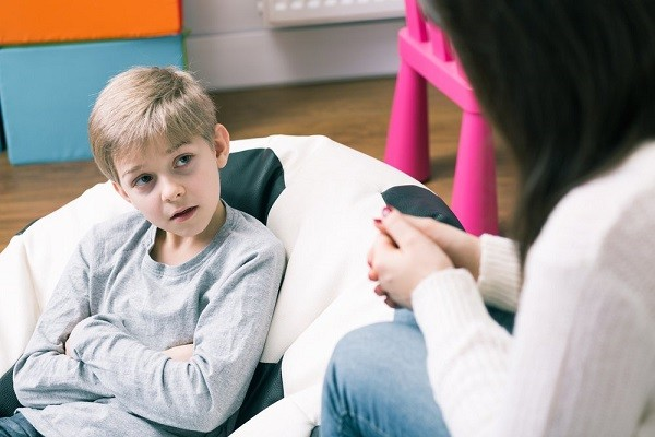 ребенок на консультации у психолога
