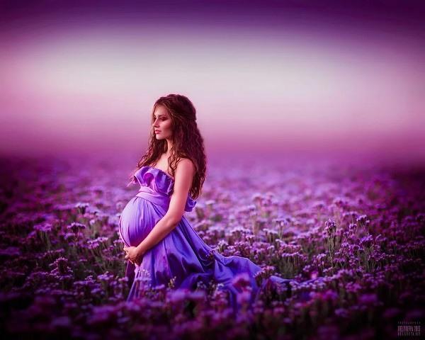 сиреневый цвет и беременность
