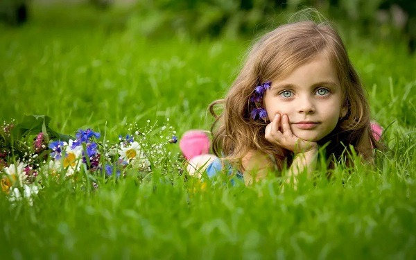 Значение зеленого цвета в психологии для детей