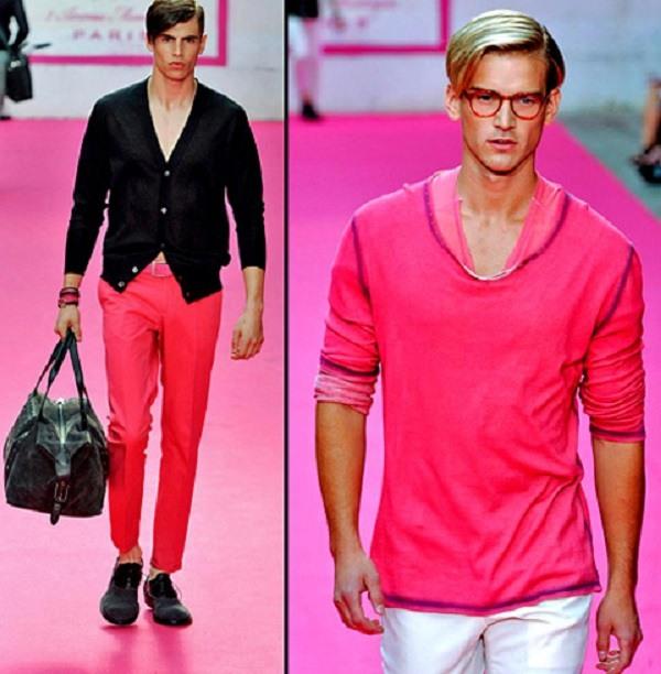 значение розового цвета для мужчин