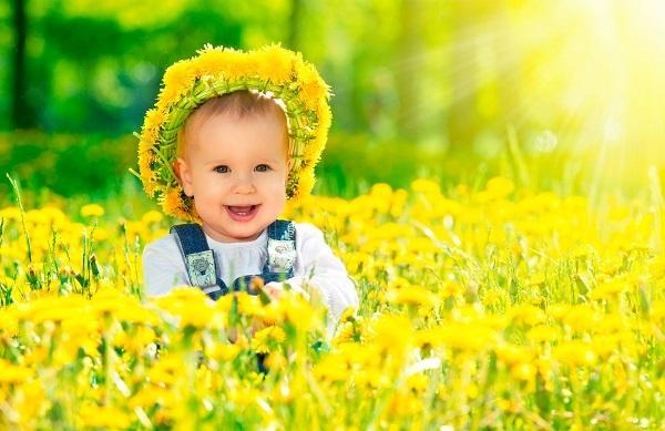 значение желтого цвета для ребенка