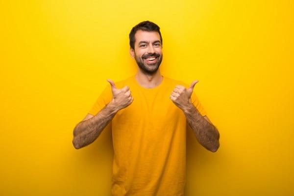 значение желтого цвета для мужчины