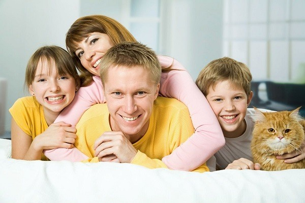 благоприятная семейная обстановка