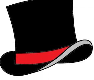 черная шляпа