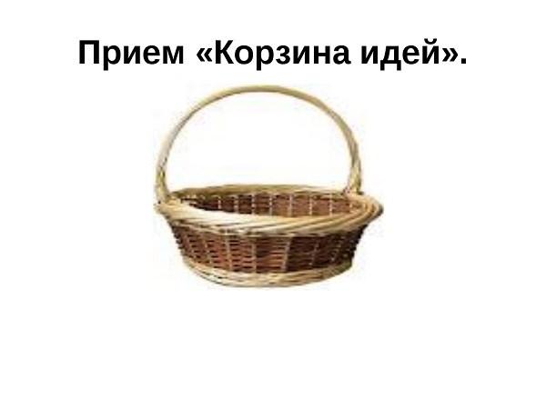 метод «Корзина идей»