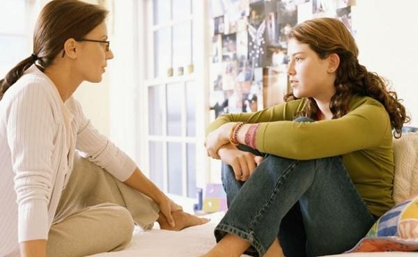 общение родителя с подростком