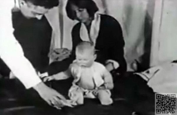 Первая фаза эксперимента крошка Альберт