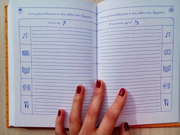 дневник эмоций