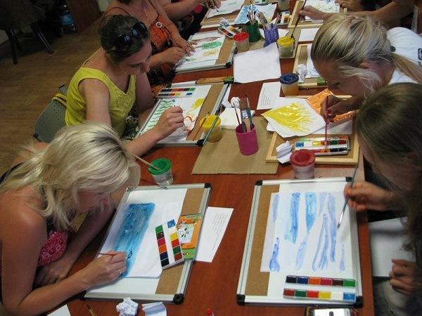 Организация занятий по арт-терапии