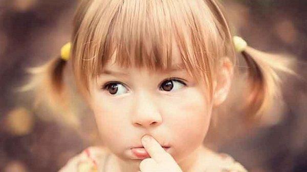 задумчивость ребенка