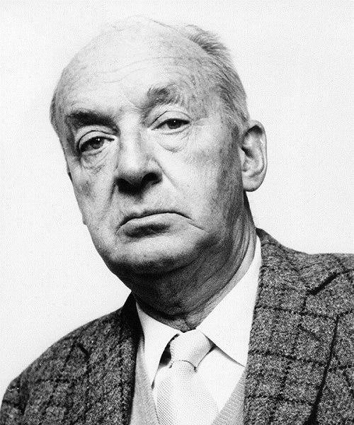 писатель В. Набоков