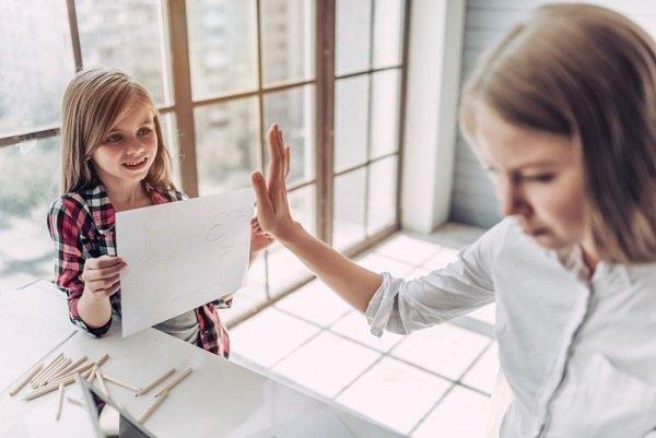 поведение родителя