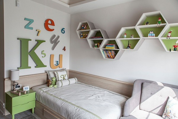Оптимизируйте пространство в детской