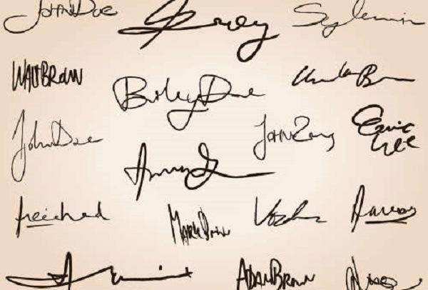 Графология подписи