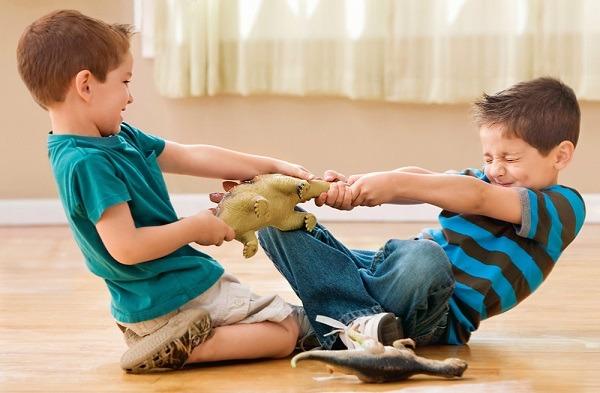 ребенок не дает играться другим детям